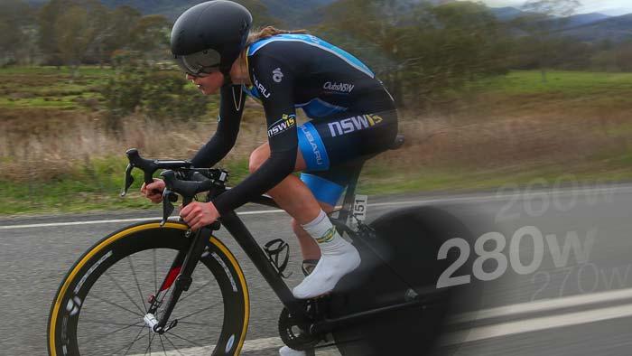 Power Analysis: Anna-Leeza Hull's Junior Women's World Time Trial