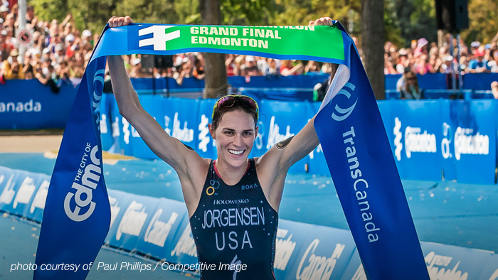 TrainingPeaks Announces Sponsorship of World Champion Triathlete Gwen Jorgensen