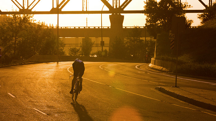 How Swimming, Biking, and Running Cultivate Self-Reliance