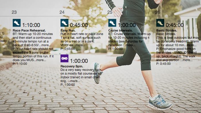 What Should Runners Look For in a Training Plan?