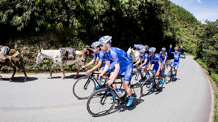 Behind-the-Scenes at an Early Season Pro Cycling Camp