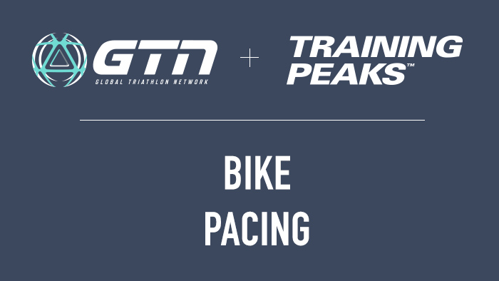 GTN Presents: Bike Pacing for a Triathlon