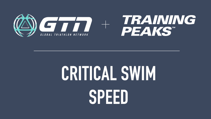GTN Presents: What is Your Critical Swim Speed? (And How to Increase It)