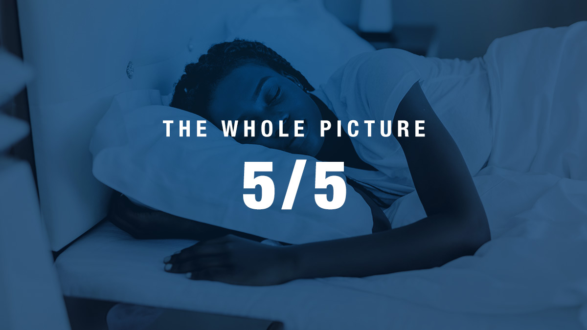 The Whole Picture: Recovery Through Sleep