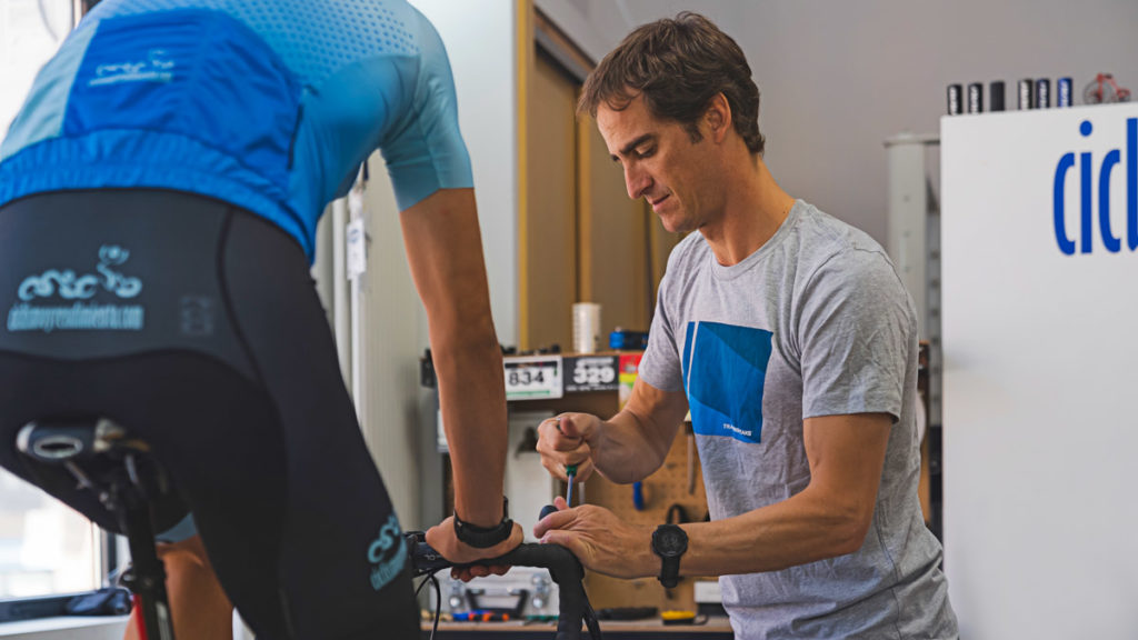 Yago Alcade is a cycling coach and bike fitter based in Madrid, Spain. Here's how he balances a full roster and his growing business.