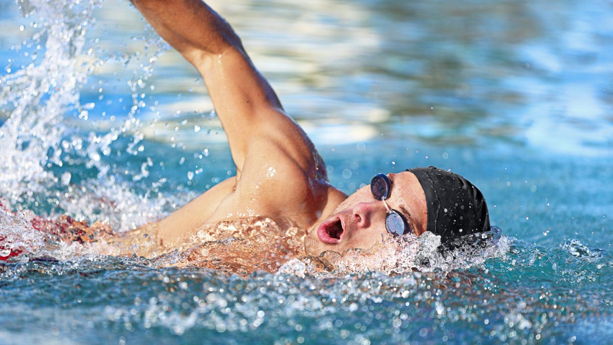 Effective Breathing in the Pool