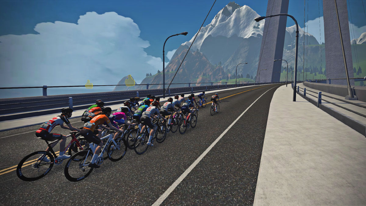 See Julien Bernard's Victory in Stage 2 of Zwift's Virtual Tour de France
