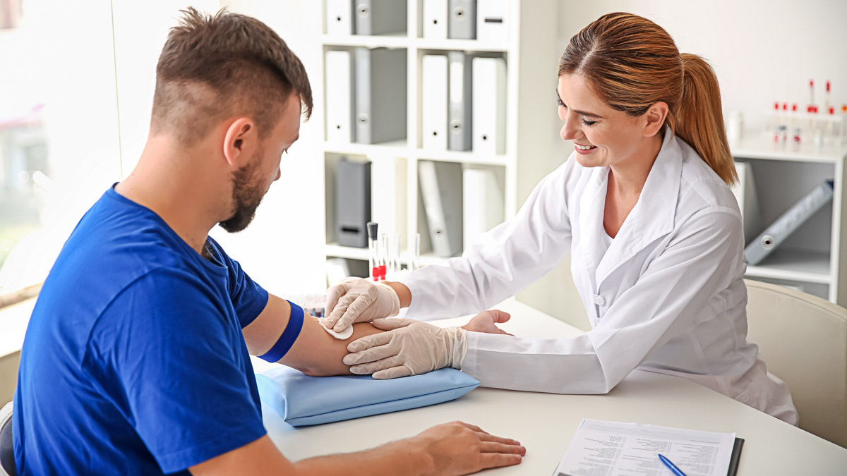 Post and Pre-Season Blood Tests for Athletes
