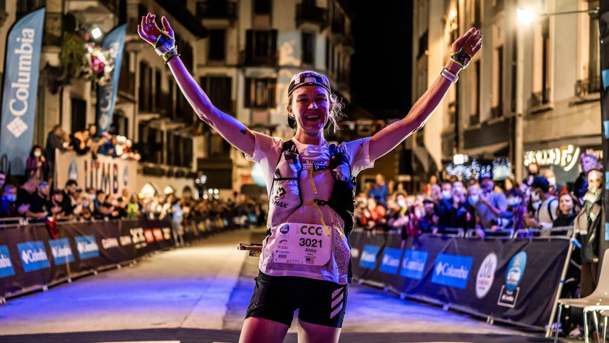 Behind Ultra Runner Abby Hall's Sensational CCC-UTMB Placement